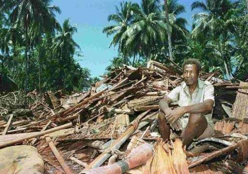 Homeless: July 1998 - Aitape, Papua New Guinea