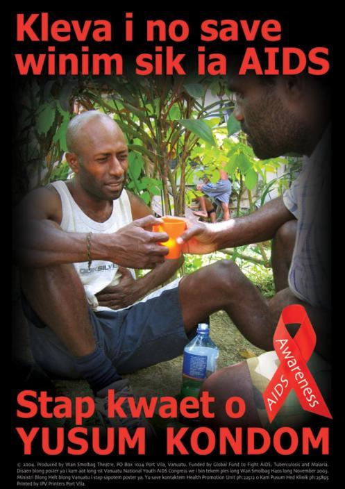 Wan Smolbag Poster: Kleva i now save winim sik ia AIDS