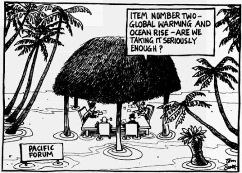 Who Own's the Pacific Islands Forum?