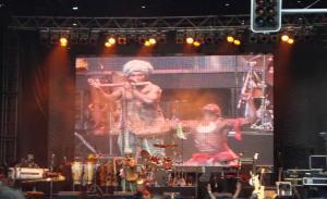 Tony Subam (Sanguma Band) Blowing the Flute