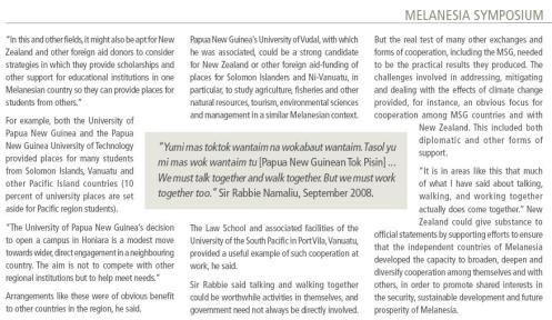 Melanesian Symposium - Not Just Talking and Walking (Part 2)