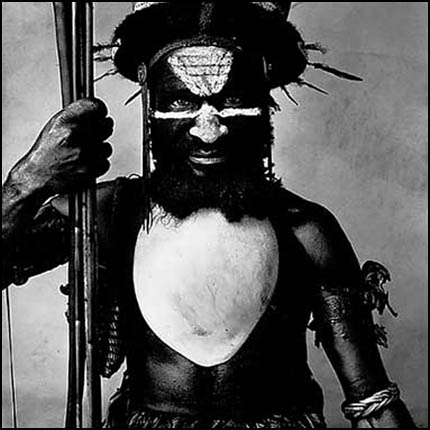 Ialibu Warrior - Irving Penn