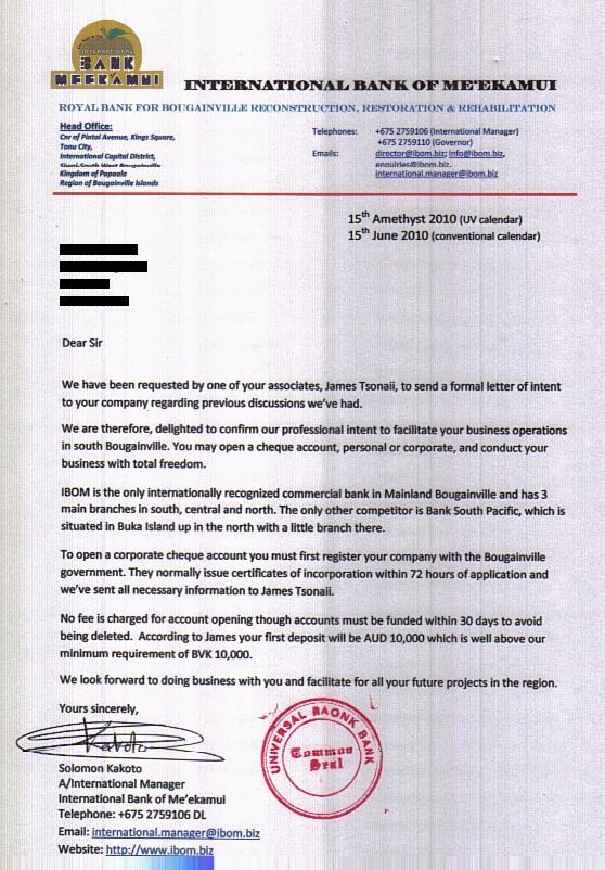 Letter Of Intent Investment Dental Vantage Dinh Vo Dds